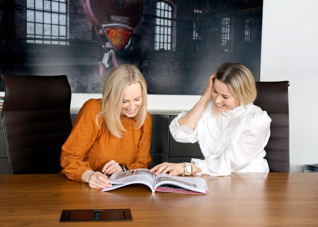 Annette og Susanne